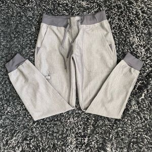 Med Couture Grey Jogger Scrub Pants